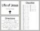 Bible Task Cards: Life of Jesus
