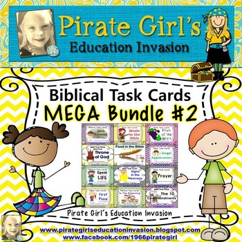 Bible Task Cards: MEGA Bundle #2