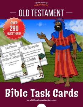 Bible Task Cards: Old Testament