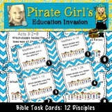 Bible Task Cards: The 12 Disciples