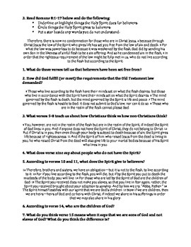 Bible: The Role of the Holy Spirit