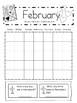 Bible Themed Calendar Set with Monthly Calendar Worksheets