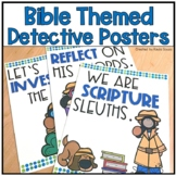 Bible Themed Detective Posters