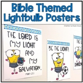 Bible Themed Light Posters
