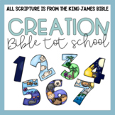 Bible Tot School: CREATION Plans, Printables, + Hands On C
