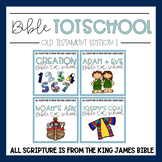 Bible Tot School OT Edition 1: BUNDLE