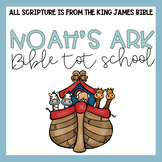 Bible Tot School: Noah's Ark Plans, Printables, + Hands On