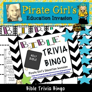 Bible Trivia Worksheets & Teaching Resources | Teachers Pay