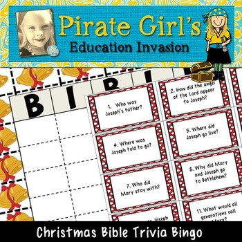Christmas Bible Trivia.Bible Trivia Bingo Christmas Edition