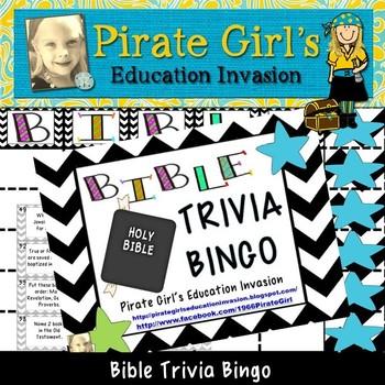 Bible Trivia Bingo