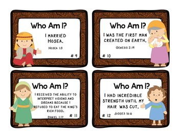 Bible Trivia Cards Sample Pack