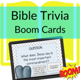 Bible Trivia DIGITAL Freebie | Boom Card to Learn about the Bible