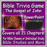 Bible Distance Learning - The Gospel of John Quiz Show -Upload as Google Slides!