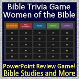 Bible Quiz Show - Women of the Bible Jeopardy Style Review Game