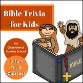 Bible Trivia for Kids