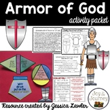Bible Unit: Armor of God Activity Packet