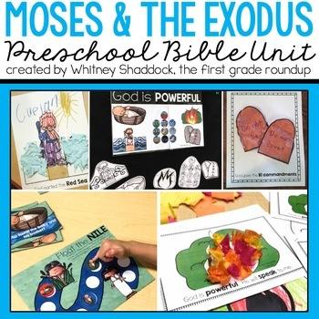 Moses Bible Unit