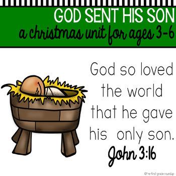 Bible Unit: God Sent Jesus (Christmas)