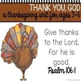 Thanksgiving Bible Unit