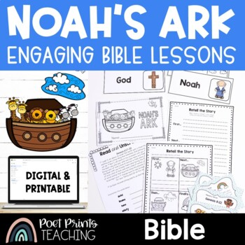 Bible Lessons, Noah's Ark, The Great Flood
