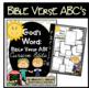 Bible Verse ABC's (God's Word {Farmhouse} Neutral Chevron, Cursive Edition)