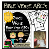 Bible Verse ABC's (God's Word {Farmhouse} Neutral Chevron,
