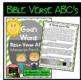 Bible Verse ABC's (God's Word Green Chevron, Manuscript Print Edition)
