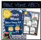 Bible Verse ABC's (God's Word Nautical Blue Chevron, Cursive Edition)