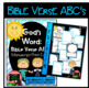 Bible Verse ABC's (God's Word Teal Chevron, Manuscript Print Edition)