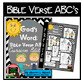 Bible Verse ABC's KJV (God's Word Black Chevron, Cursive Edition)