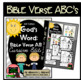Bible Verse ABC's KJV (God's Word {Farmhouse} Neutral Chevron, Cursive Edition)