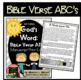 Bible Verse ABC's KJV (God's Word {Farmhouse} Neutral, Manuscript Print Edition)