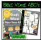 Bible Verse ABC's KJV (God's Word Green Chevron, Manuscript Print Edition)
