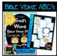 Bible Verse ABC's KJV (God's Word Teal Chevron, Cursive Edition)