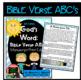 Bible Verse ABC's KJV (God's Word Teal Chevron, Manuscript Print Edition)