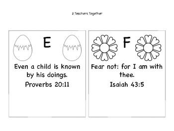 Bible Verse / Alphabet Hats