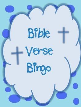 Bible Verse Bingo