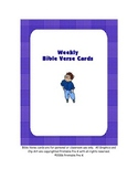 Bible Verse Cards For Memory Work