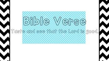 Bible Verse Classroom Display