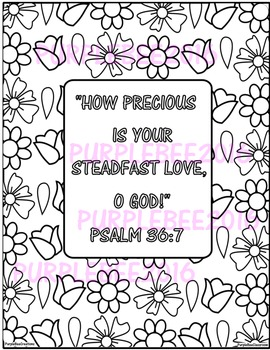 Bible Verse Coloring Page Psalm 367