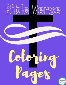 Bible Verse Coloring Pages {GROWING BUNDLE}