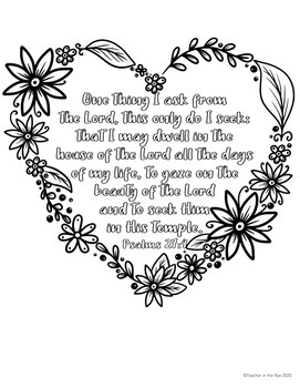 Free Printable Bible Verse Coloring Pages - | 350x271