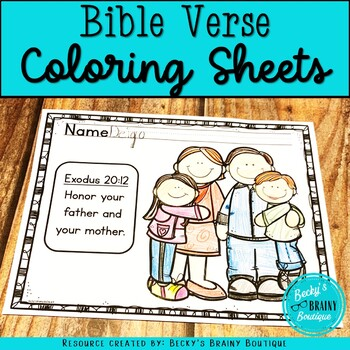 Bible Verse Coloring Pages from A-Z (plus 2 bonus verses)