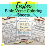 Bible Verse Coloring Sheets about Easter || Coloring sheet