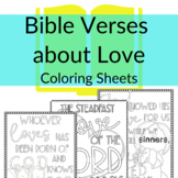 Bible Verse Coloring Sheets about Love | Coloring sheets f