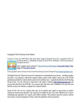 Bible Verse Memorization Activity Pack for Kids, Volume 1