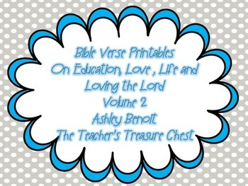 Bible Verse Poster on Education, Life, Love and Everything