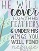 Bible Verse Poster Set {watercolors}
