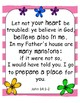 Bible Verse Posters Bright Boho Classroom Decor, End of the Year Teacher Gift