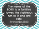Bible Verse Posters- Chevron and Chalkboard